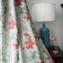 遮光カーテン オーダーカーテン 捺染 花柄 田園風 寝室用 3級遮光カーテン(1枚)
