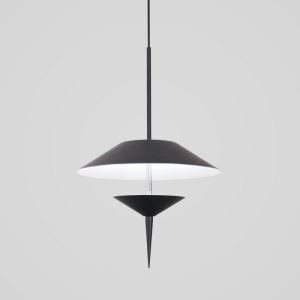 ペンダントライト 照明器具 天井照明 リビング照明 店舗照明 傘型 黒/灰色 オシャレ LED対応 LB80919
