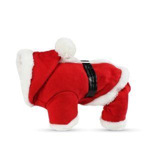ペット服 クリスマス サンタクロース 仮装 冬 暖かい 可愛い 面白い