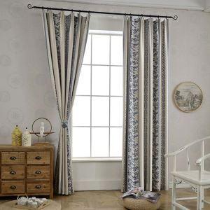 遮光カーテン オーダーカーテン 現代 ジャカード 幾何柄 3級遮光カーテン(1枚)