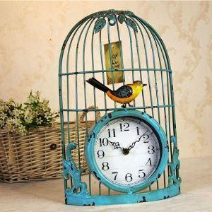 時計 壁掛け時計 静音時計 クロック 北欧 鳥かご インテリア 創意 ZT083