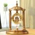 時計 置き時計 静音時計 クロック 金属 北欧風 創意 インテリア ms6892130-J