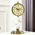 時計 置き時計 静音時計 クロック 北欧風 創意 インテリア 6856--1-J