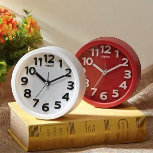 時計 置き時計 静音時計 クロック 現代的 ABS プラスチック シンプル AD17006