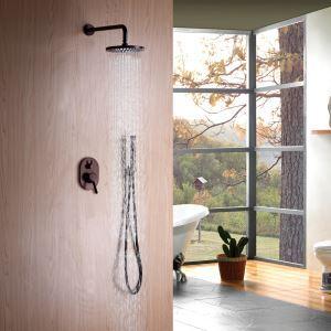 埋込形シャワー水栓 レインシャワーバス ヘッドシャワー ハンドシャワー バス蛇口 混合栓 ORB