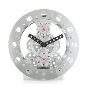 置き時計 目覚まし時計 歯車時計 現代風 オシャレ