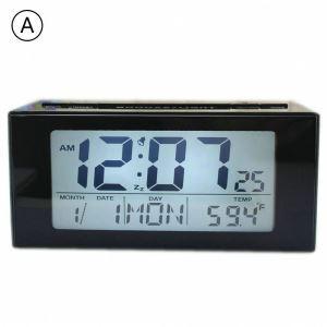 時計 置き時計 静音時計 クロック LCD 現代的 シンプル 創意 インテリア D91809