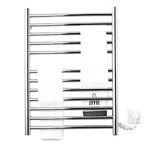 壁掛けタオルウォーマー 室内ヒーター タオルハンガー+簡易乾燥 ステンレス鋼 90W