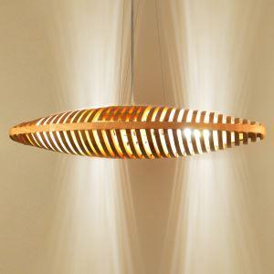 ペンダントライト 照明器具 リビング照明 ダイニング照明 店舗照明 吹き抜け照明 船型 北欧風 和風 透かし彫り 木製 2灯