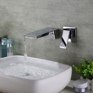 壁付水栓 洗面蛇口 バス水栓 冷熱混合栓 手洗器蛇口 水栓金具 クロム HAY