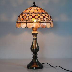 テーブルランプ ティファニーライト ステンドグラスランプ 卓上照明 1灯 D30cm