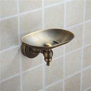 浴室ソープディッシュホルダー バスアクセサリー ブロンズ色 真鍮製