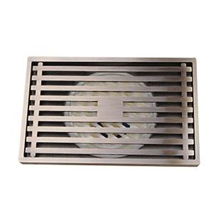 浴室床ドレイン 排水ドレイン 排水用品 真鍮製 ブロンズ色 LK-1054