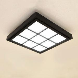 LEDシーリングライト リビング照明 照明器具 天井照明 ダイニング 寝室 和室和風 黒色 12畳 方形 LED対応 JPL1060BLK