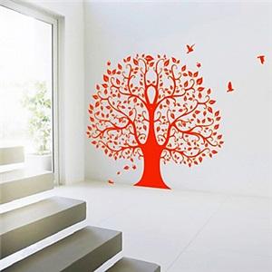 ウォールステッカー 転写式ステッカー PVCシール 壁紙シート 剥がせる 大きな木
