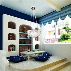 ペンダントライト 天井照明 子供屋照明 玄関照明 巣 3灯