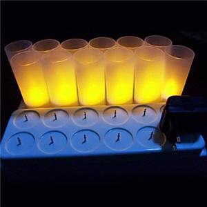 LEDテーブルランプ テーブル照明 テーブルライト スタンド 充電式 12pc