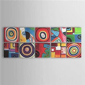 油絵画 手描き抽象画 10個セット