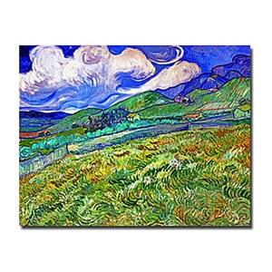 油絵画 ファン・ゴッホ画 手描き 田舎
