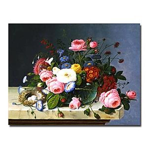 油絵画 手描き植物画