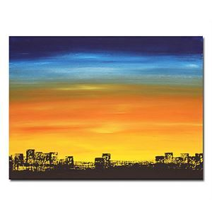 油絵画 手描き風景画