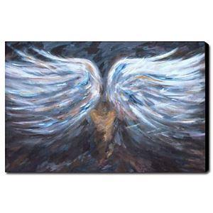 油絵画 手描き抽象画 天使 1211-AB0067