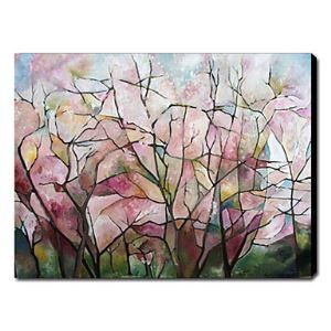 油絵画 手描き抽象画
