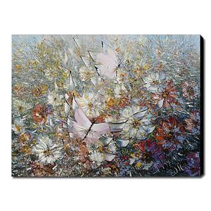 油絵画 手描き静物画 1211-FL0048