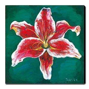 油絵画 手描き静物画 正方形