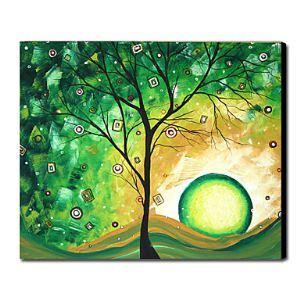 油絵画 手描き風景画 フレームなし 1211-LS0065