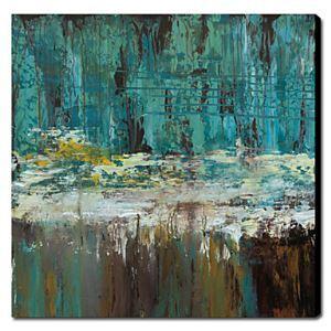 油絵画 手描き風景画 深海 1211-LS0026