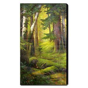 油絵画 手描き風景画 1211-LS0166