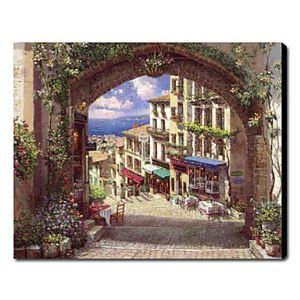 油絵画 手描き風景画 ヴェネツィア 1211-LS0168