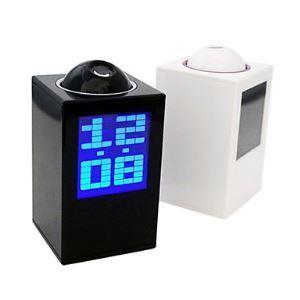デジタル時計 LEDアラーム時計 温度計付き
