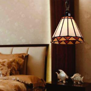 ティファニーライト ペンダントライト ステンドグラスランプ 照明器具 欧米風 (0923XCDS022)