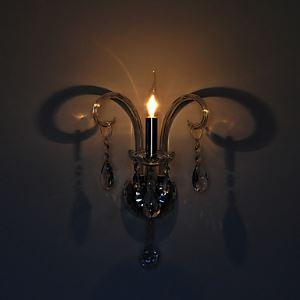壁掛けライト クリスタル壁掛け照明 1灯
