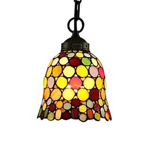 ティファニーライト ペンダントライト ステンドグラス照明器具 瑪瑙 1灯