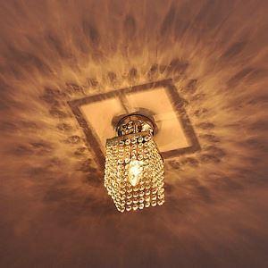 シーリングライト 玄関照明 天井照明 照明器具 クリスタル照明 1灯