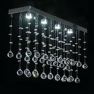 シーリングライト 照明器具 天井照明 リビング用 寝室用 クリスタル付 オシャレライト 4灯