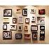 壁掛けフォトフレーム 写真用額縁 フォトデコレーション PM-23 23個セット 複数枚