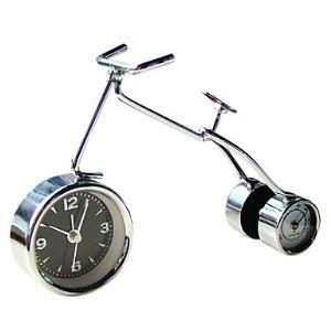 デジタル時計 現代風 温度計