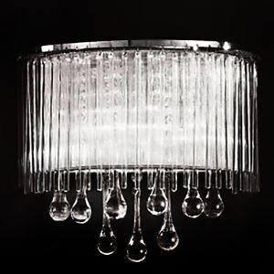 壁掛けライト ウォールランプ クリスタル照明 照明器具 滴型 オシャレ 2灯