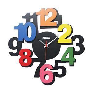 時計 壁掛け時計 インテリア 数字 ミュート