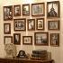 壁掛けフォトフレーム 写真用額縁 フォトデコレーション 15個セット 複数枚 FZ-015