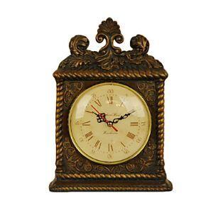 レトロな置き時計 ポリレジン
