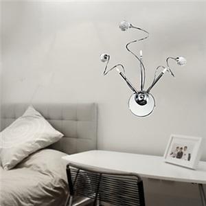 壁掛けライト ウォールランプ 照明器具 スパイラル型 3灯
