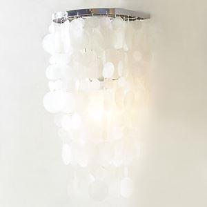 壁掛けライト ウォールランプ 照明器具 ブラケット 玄関照明 シェル 1灯