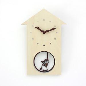 壁掛け時計 猿のハウス