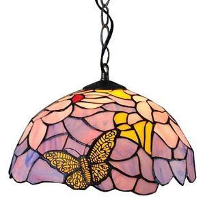 ティファニーライト ペンダントライト ステンドグラス照明器具 1灯