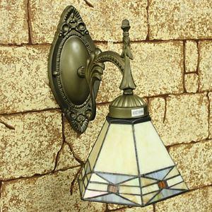 ティファニーライト 壁掛け照明 壁掛けライト ステンドグラス製照明 1灯